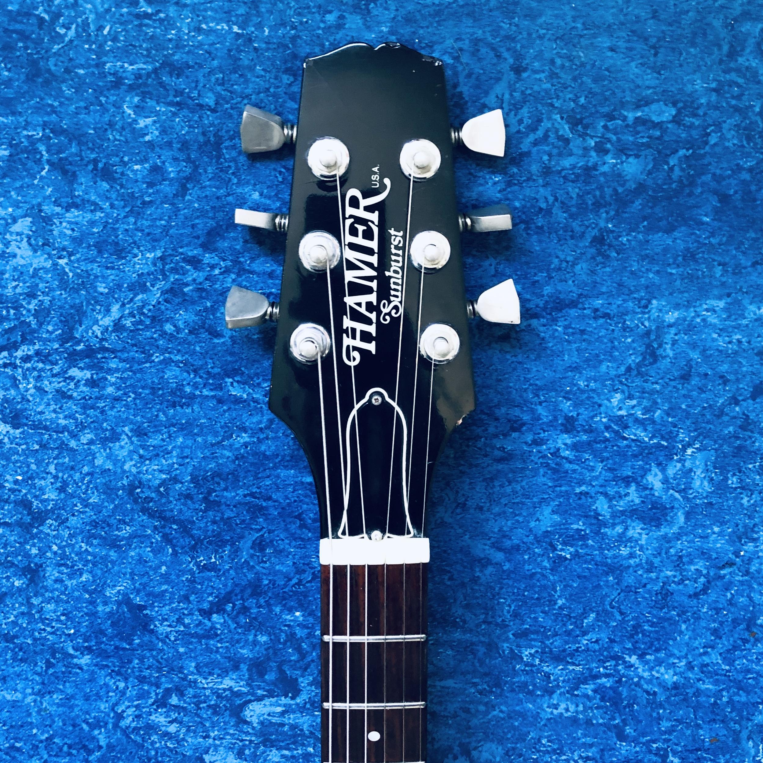 1979 Hamer Sunburst Guitar
