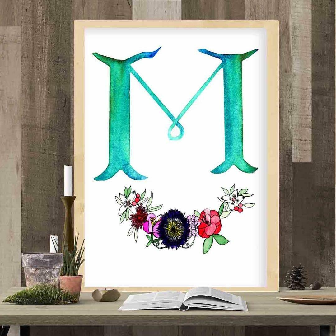 Custom Letter Motif