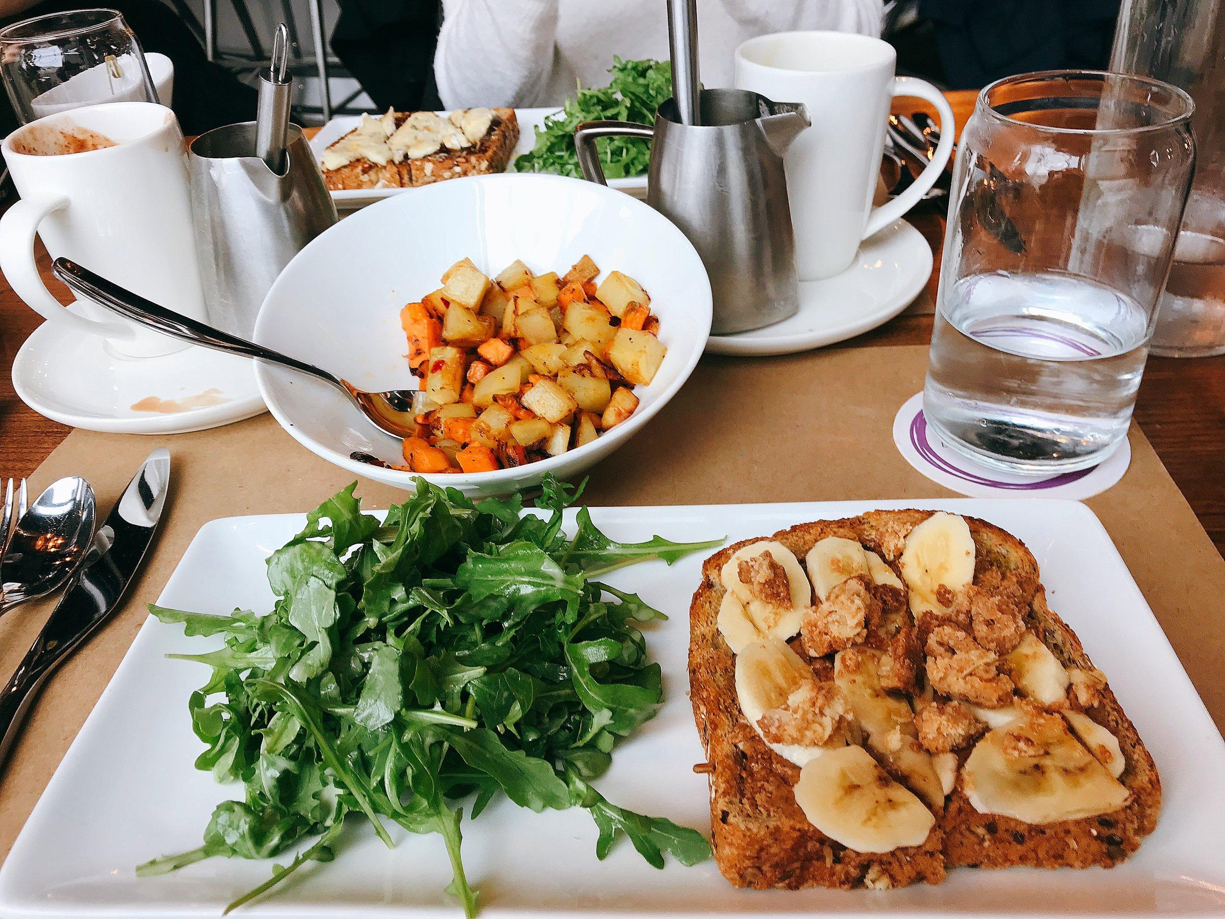 Almond Butter Toast