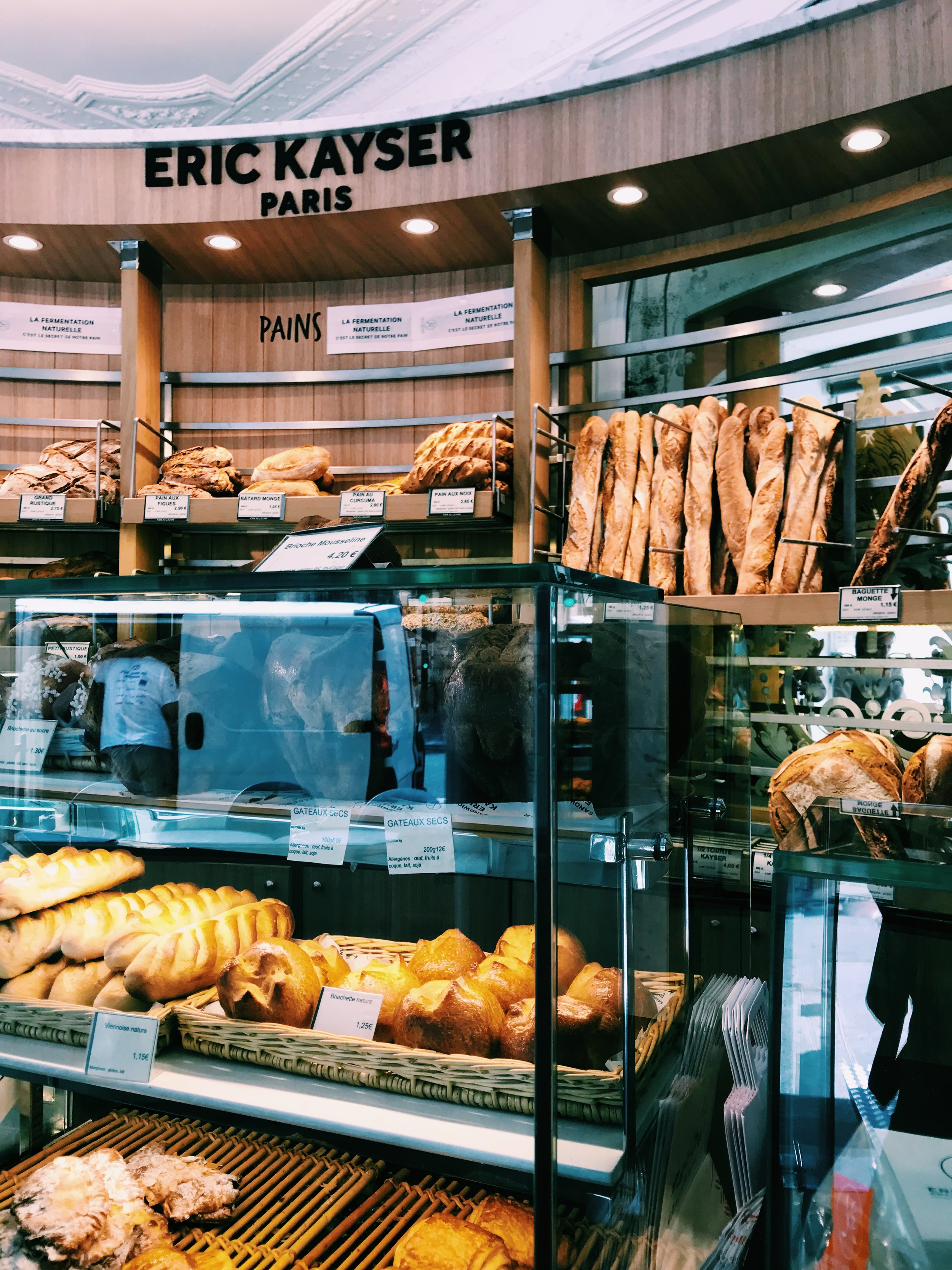My favorite bakery in Paris, you must get their chocolate croissants!