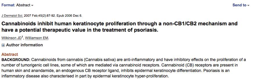 CBD psoriasis