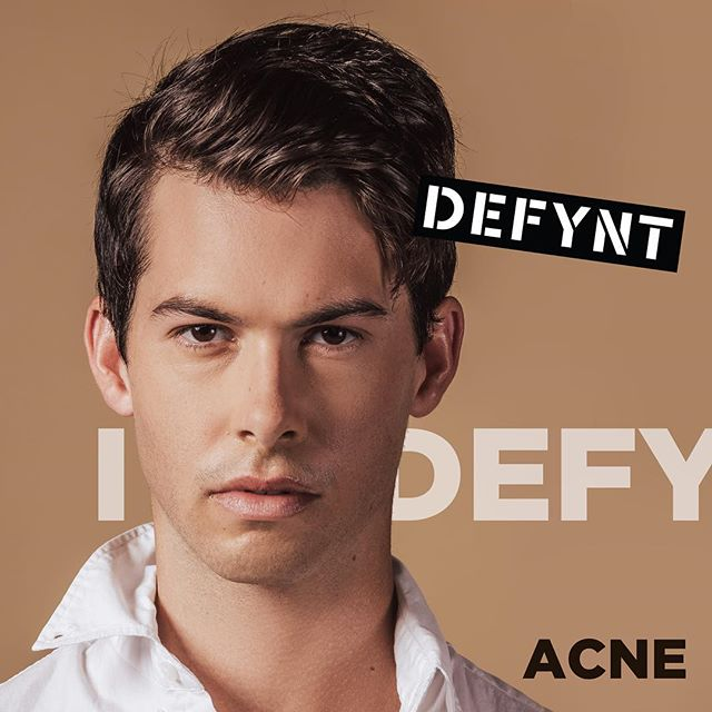 """I've  used countless products with little improvements. I even took accutane, but would still see acne. I have never seen clearer skin than when using #Defynt "" @nothingischance for #defyntskin Photo by @mrcourtneycharles"