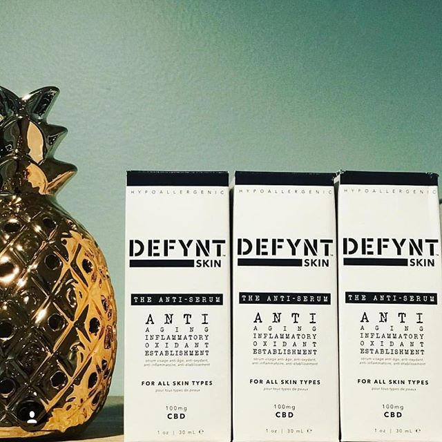 @thehempirecompany stocked up on #Defynt 👉🏻 100mg of Nano CBD and a host of rich ingredients. DEFY Acne, Aging, inflammation and oxidation with #DefyntSkincare