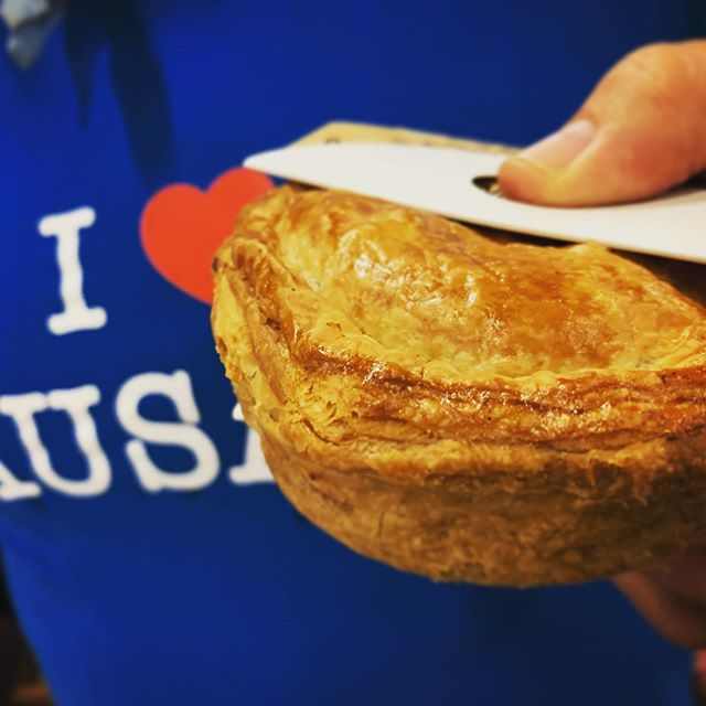 Baby it's cold outside but ohlala this will warm the very cockles... the very handmade, very delicious Beef Bourguignon pie is back exclusively yours this weekend at the @renaultfrenchfestival  make your way to the party people #verygood #tresbon