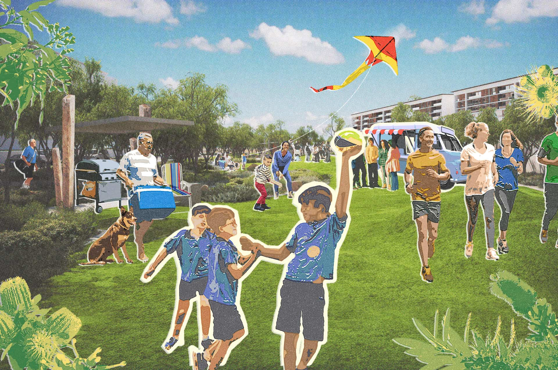 New Junction restores the heart of Midland - The town of Midland – 15km east of Perth – is an age-old meeting place for the Noongar people and, since 1890, a meeting place of people from diverse cultures and backgrounds. It's a place where rural WA meets the city – and a junction of vital road and rail networks which link the state's agricultural and mining heartlands to the coast.