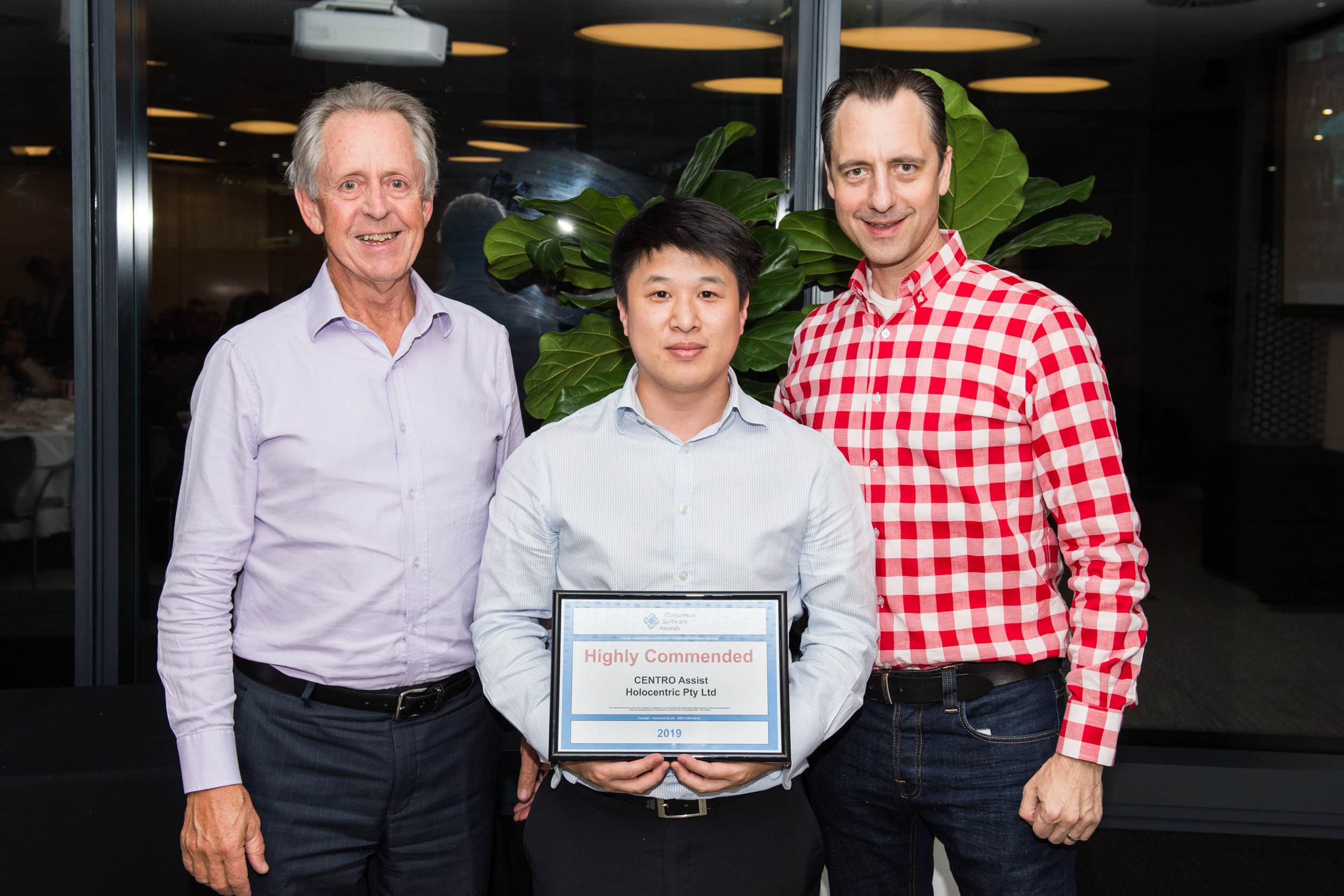Chief Executive Officer Bruce Nixon, Head of Disability Solutions Walter Tran, Chief Technology Officer Derek Renouf