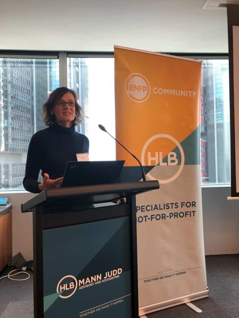 Figure 9 Carol Berry, NDIS NSW and ACT
