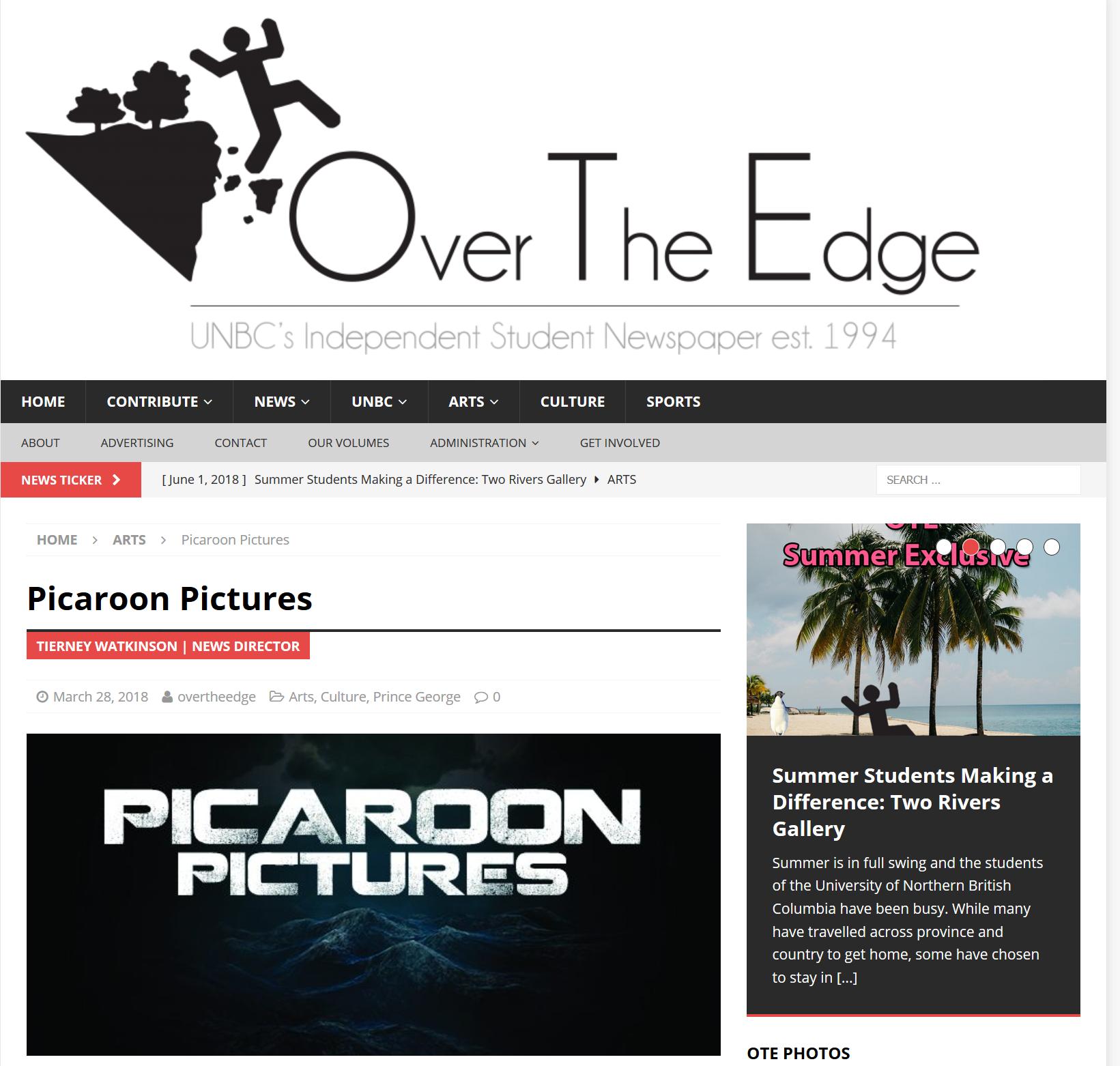 Over the Edge - Interviews Co-creator Jon Chuby -