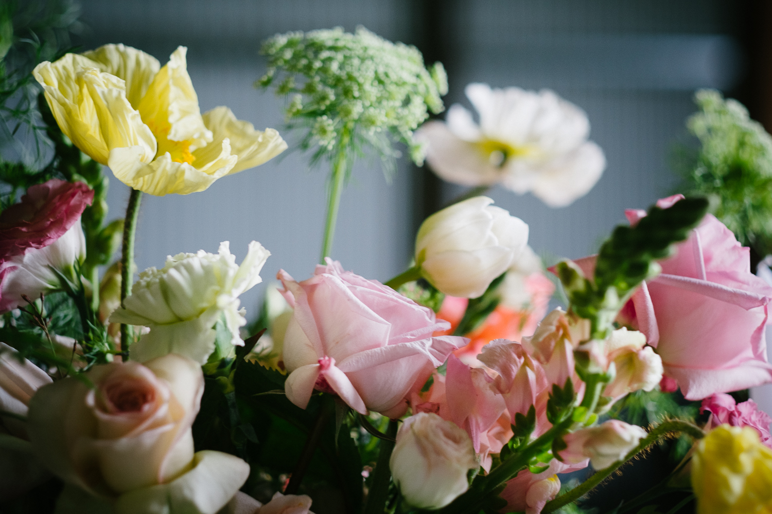 Above: Event flowers by Tillia