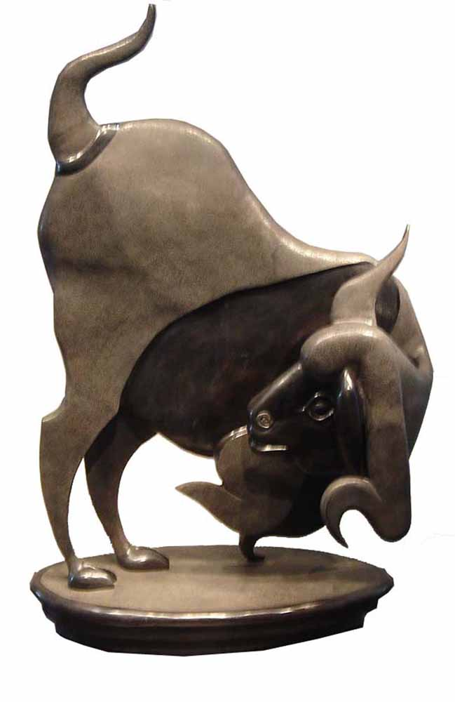 Untitled. Bronze, 53 (h) x 33 (w) x 17 (d) inches, edition 2/5. Art No. 6700