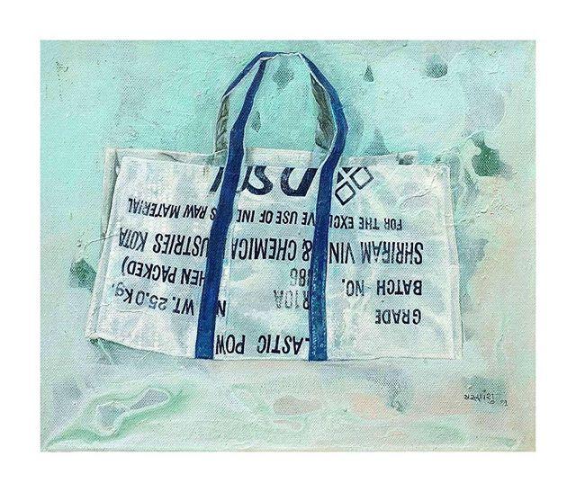 Born in 1969 in Hoogli, West Bengal, Arunanshu Chowdhury studied art at the faculty of Fine Arts, Maharaja Sayajirao University of Baroda.  In Focus, 2009, Acrylic on Canvas, 10(h) x 12(w) in . . . . . . . . . . #TaoArtGallery #ArunanshuChowdhury #Painting #Acrylic #Canvas #Paint #Bengal #West #WestBengal