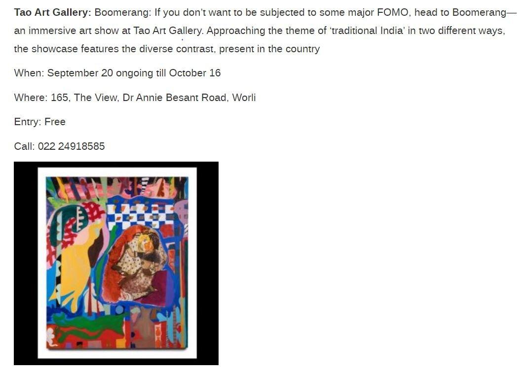 Boomerang- Elle India