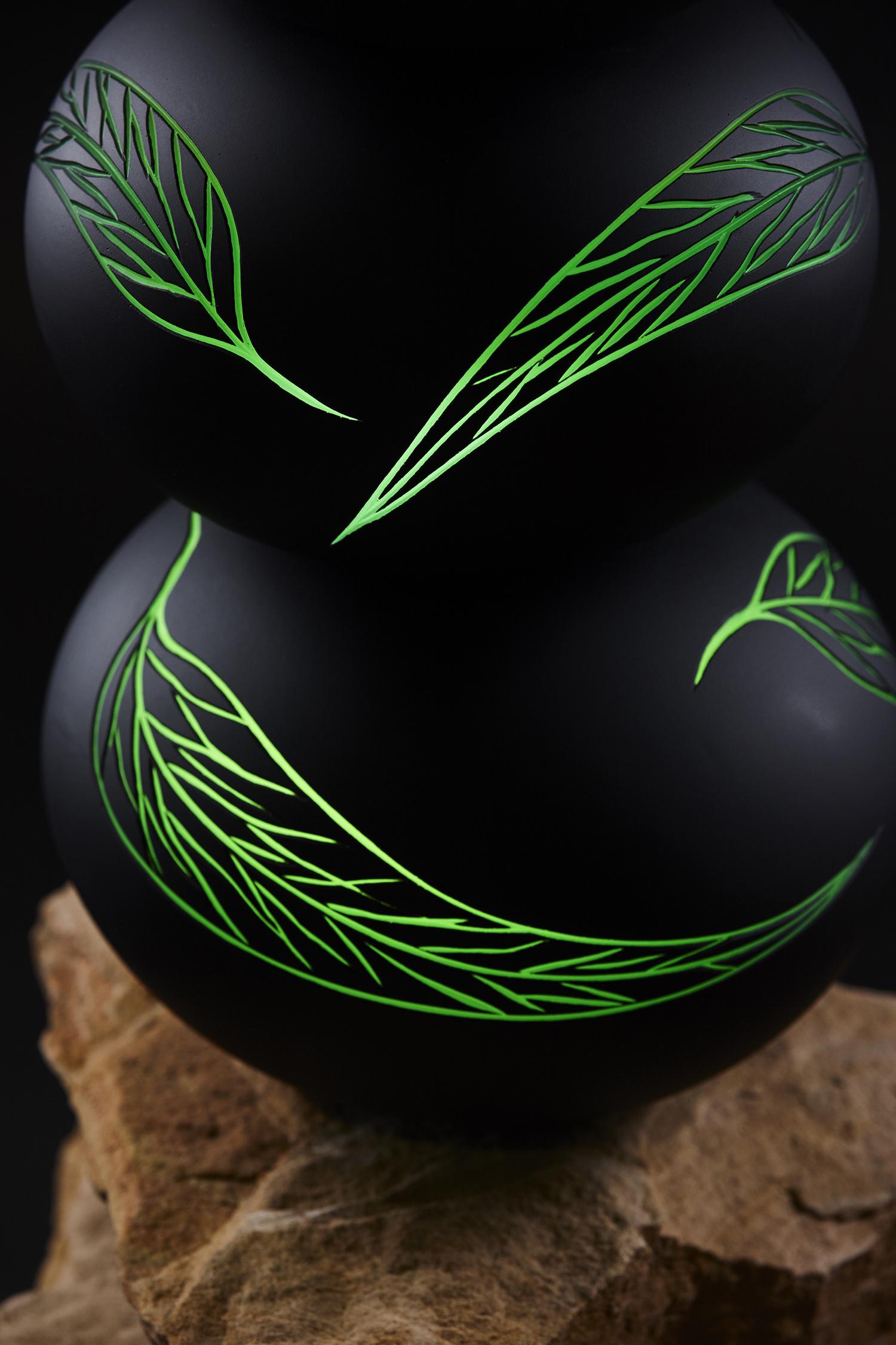 leaf totem (detail)