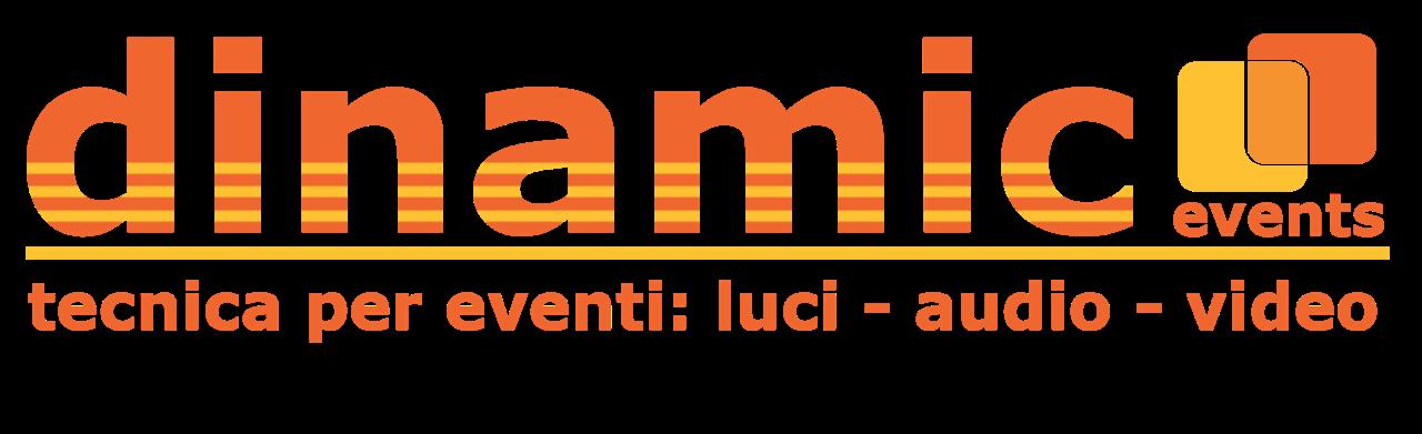 Logo dinamic events
