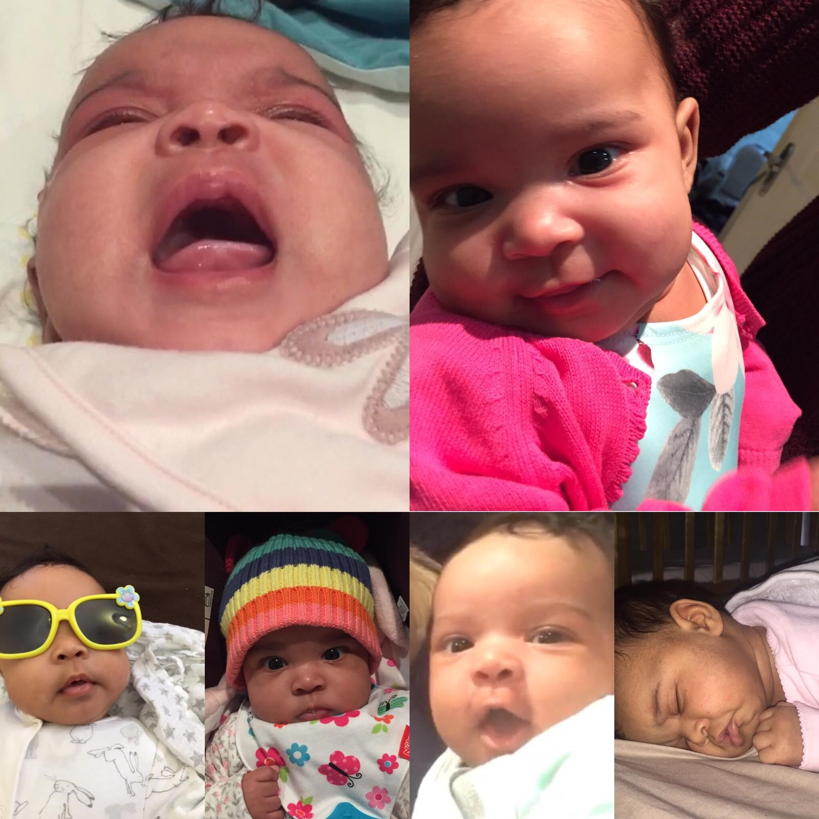 Babies are unpredictable - so many emotions!
