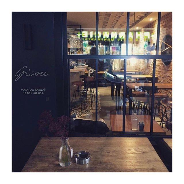 WineBarAtNight 🍷 #Gisou #gigi #Baravins #Baracocktails #CocktailsParis #Paris #Montmartre