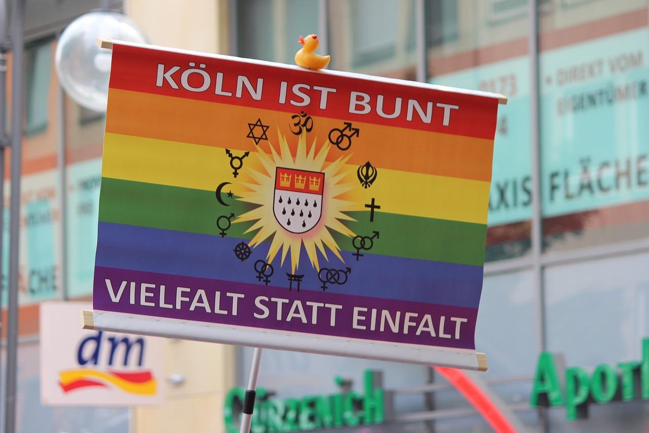 CSD-Parade in Köln.