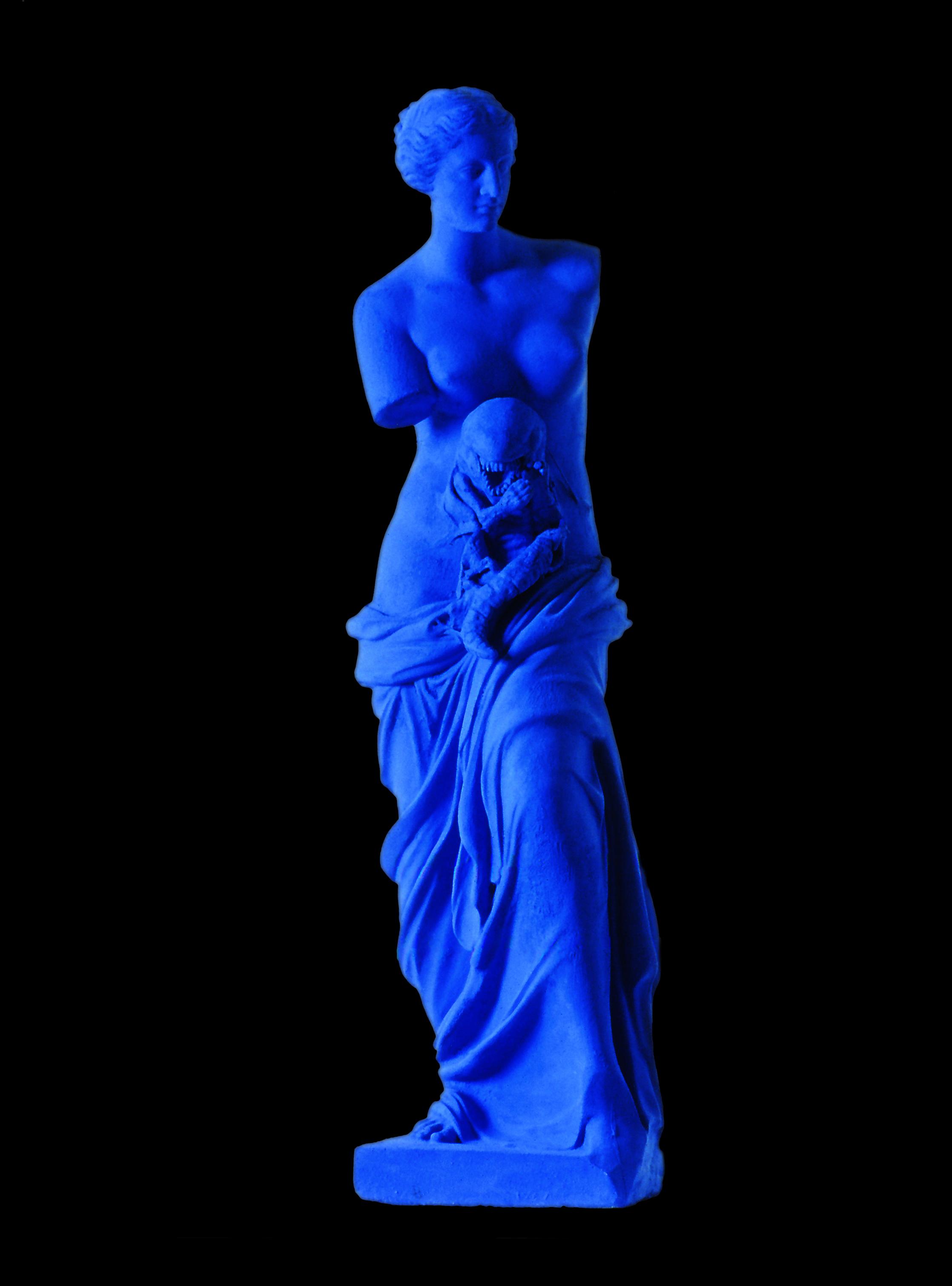 ARTIST - THE ALIEN - PARIS - FRANCE , 1999.  Mixed media. Photo: Claudio Abate