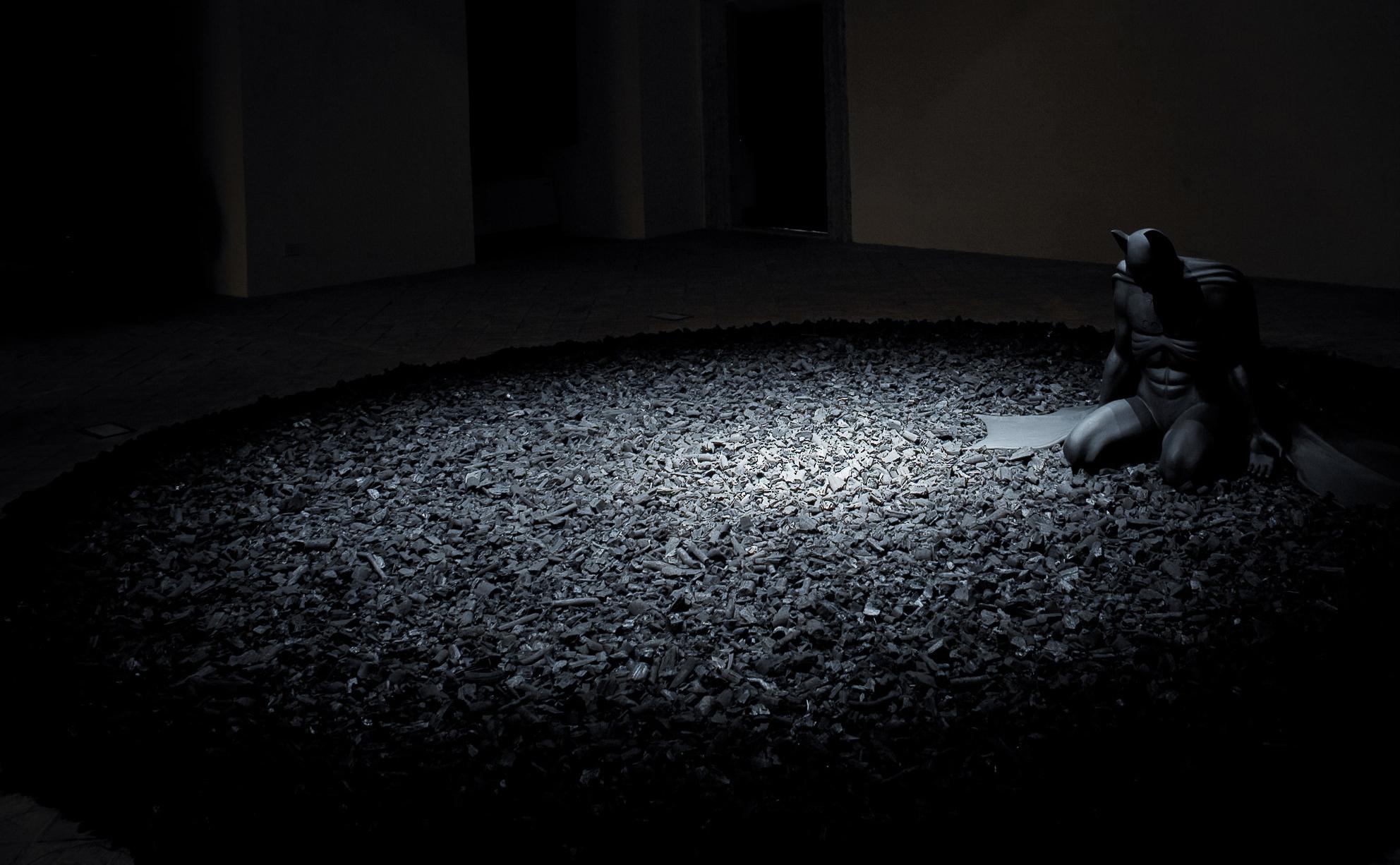 Back in Black , 2005 . GNAM - Galleria Nazionale d'Arte Moderna, Rome 2006. Photo: Studio Adrian Tranquilli