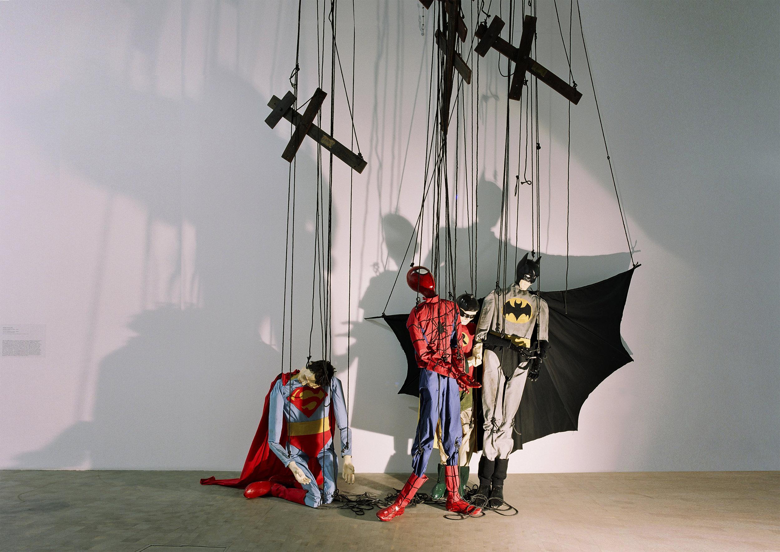These Imaginary boys , 2004 . Kunsthalle, Vienna 2005. Installation view. Photo: Studio Adrian Tranquilli