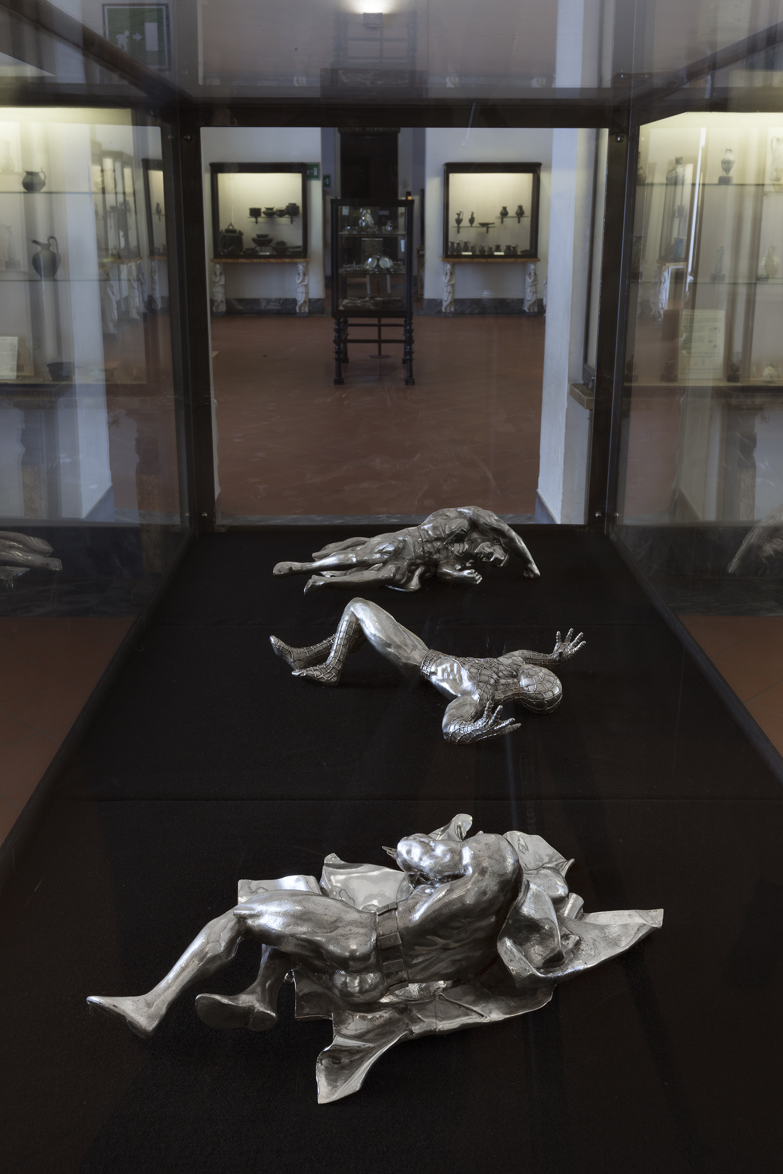 The Age of Chance , 2005 . MANN - Museo Archeologico Nazionale di Napoli, Naples 2016. Installation view. Photo: Claudio Abate