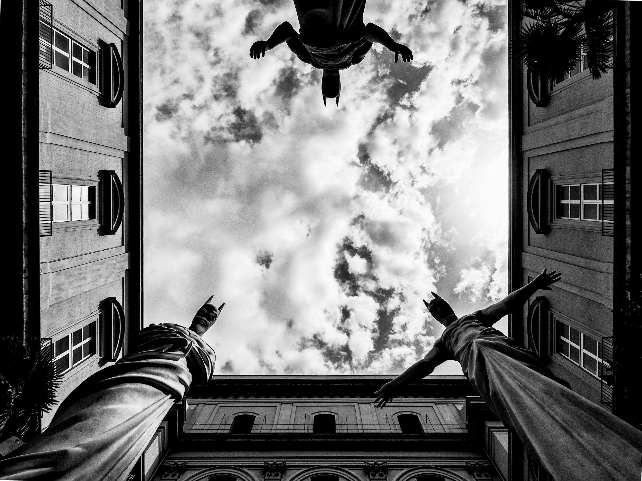 In Excelsis , 2013 . MANN - Museo Archeologico Nazionale di Napoli, Naples 2016. Installation view. Photo: Yorgos Spanodimitriou