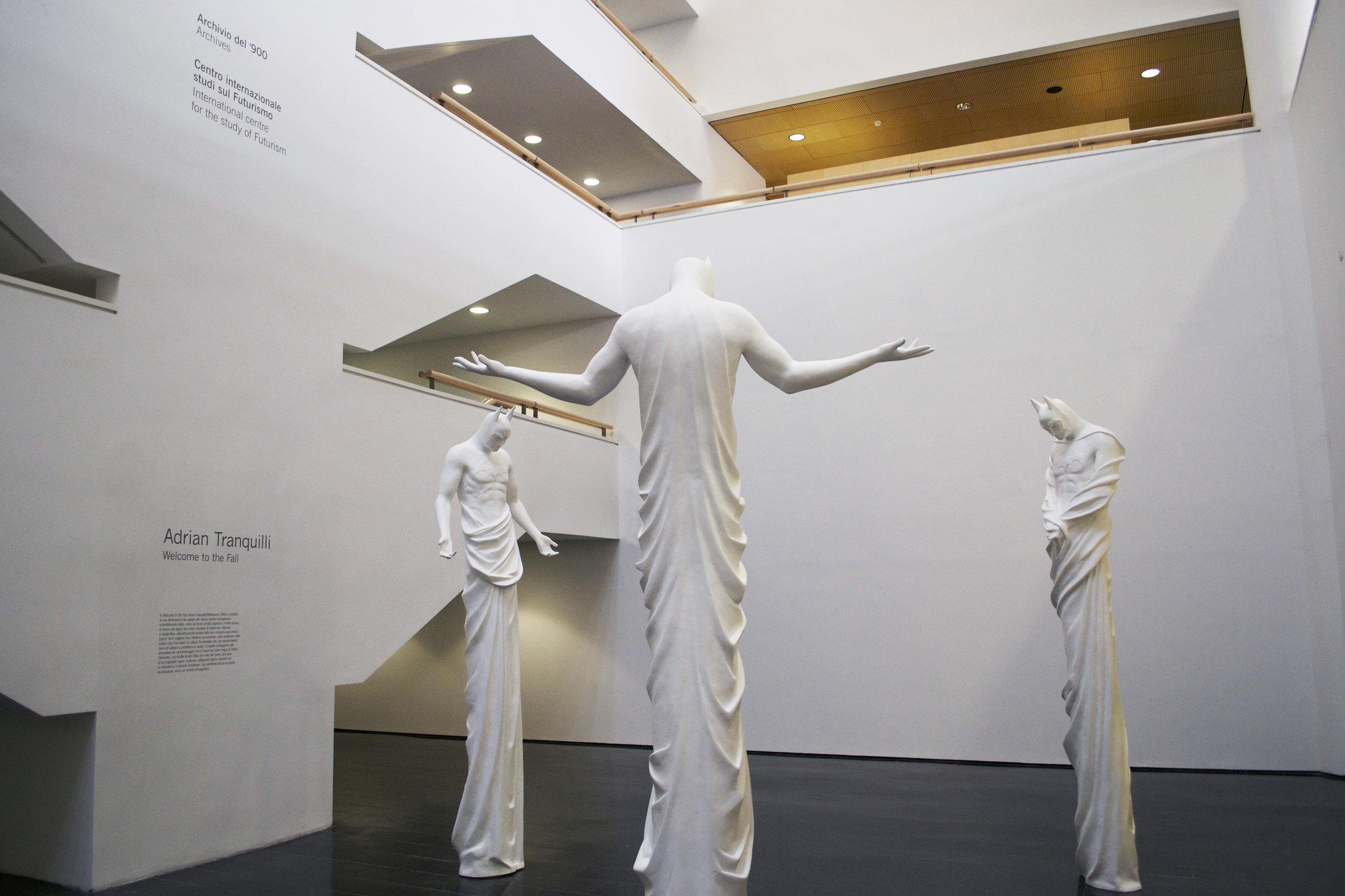 In Excelsis , 2013 . MART - Museo d'Arte Moderna e Contemporanea di Trento e Rovereto, Rovereto 2014. Installation view.Photo: Studio Adrian Tranquilli
