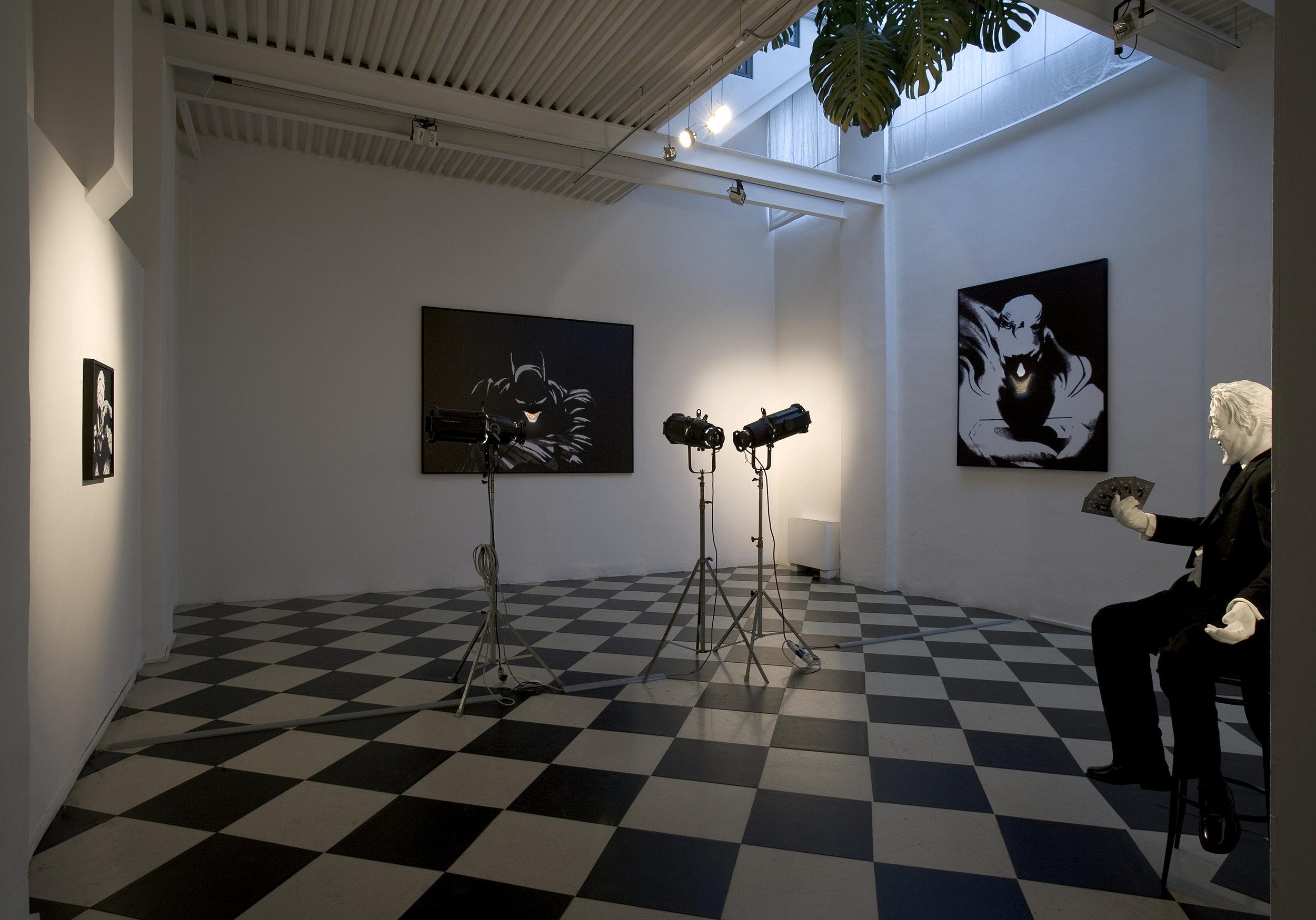 Don't forget the Joker , 2006 . Studio Stefania Miscetti, Rome. Photo: Claudio Abate