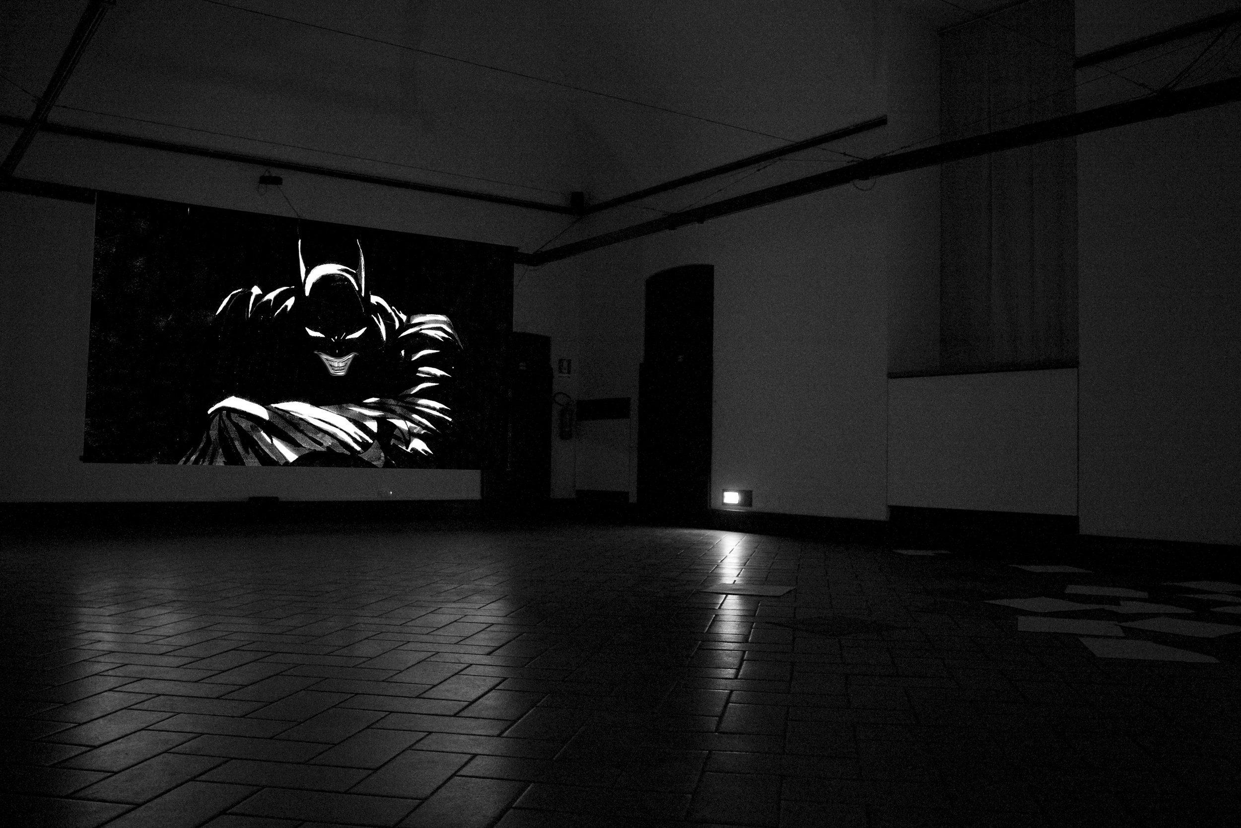 Don't forget the Joker,  2006 . Palazzo Reale, Milan 2010. Installation view. Photo: Alessia De Montis
