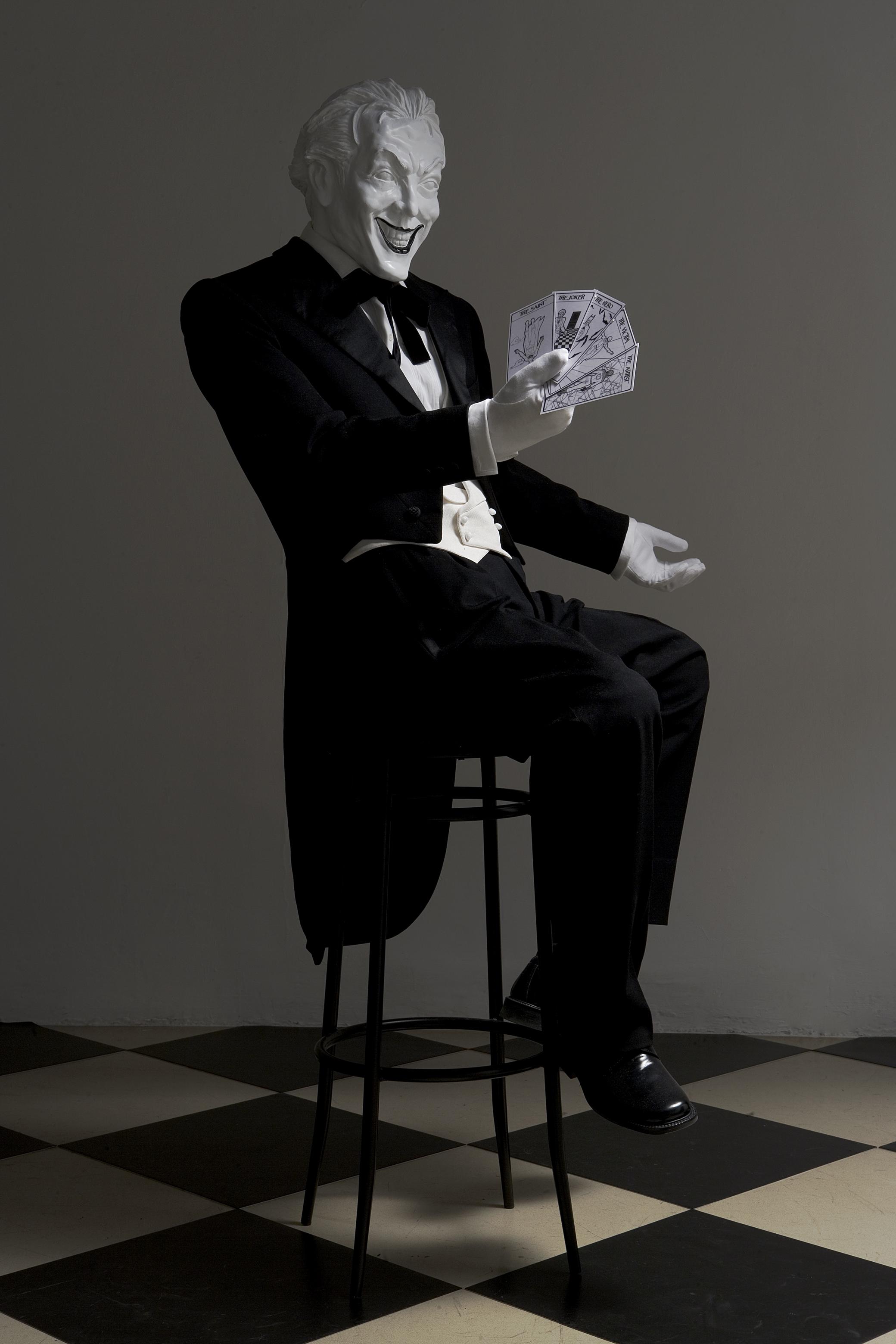 THE KILLING JOKE , 2006 , Fibreglass and mixed media, 160x80x60 cm. Photo: Claudio Abate