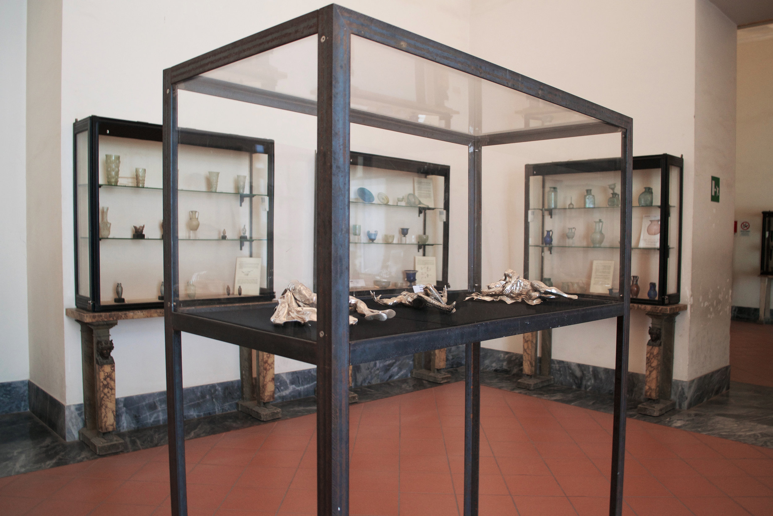 The Age of Chance , 2005 . MANN - Museo Archeologico Nazionale di Napoli, Naples 2016. Installation view. Photo: Studio Adrian Tranquilli