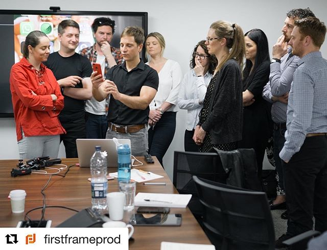 #Repost Great video training session yesterday with @firstframeprod - We strongly recommend you speak to Ryan and his team if you need any help or tips@on how to shoot great video content ・・・ The change I see in 1 hour on our Smartphone Video Workshop is incredible. People turn up not knowing how to make a short video and after a few tips it's amazing what they can do and how their confidence grows  #smartphonevideography #smartphonevideo #leeds #york #manchester #videotips #diyvideo #videomarketing