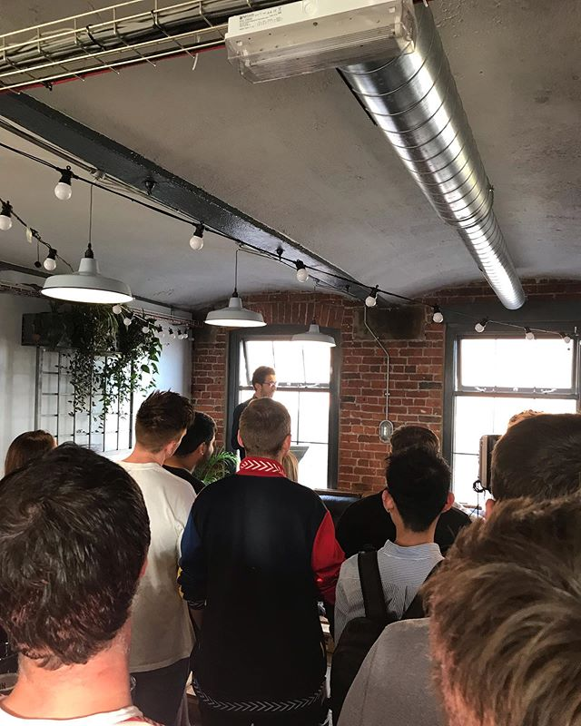 Fantastic time last night catching up with people at @allin.leeds social. Great crowd and venue @northernmonk - exciting times ahead