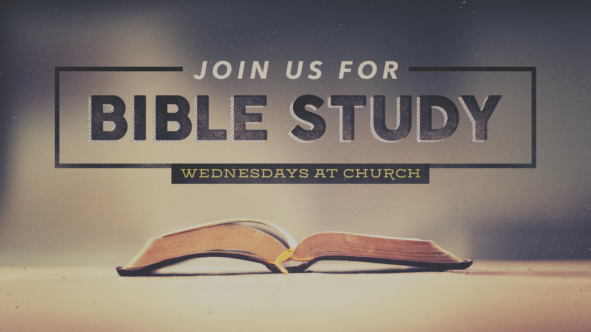 WEDNESDAY EVENINGS - 7PM  Please join us this Wednesday night for a time to grow in our faith and walk with the Lord.    Learn More →
