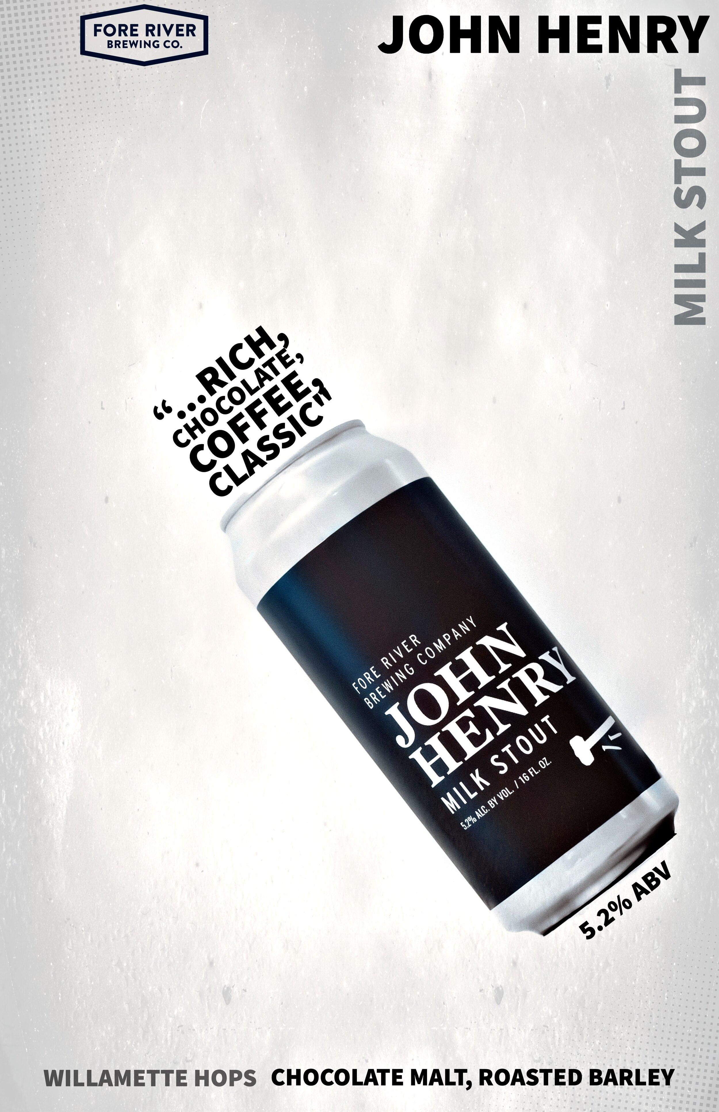 john henry - milk stout