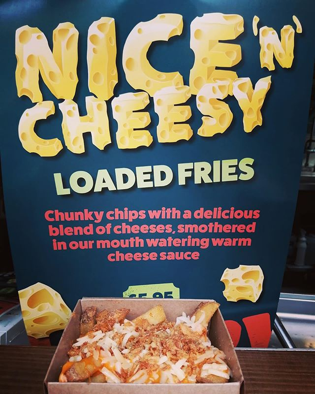 This is no ordinary cheesy chips!