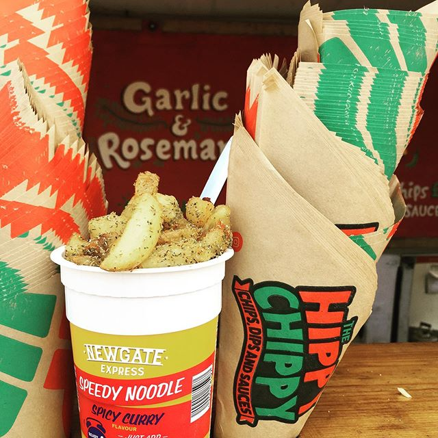 Dirty fries?? They don't come much dirtier than dunked into a Lidl pot noodle!!
