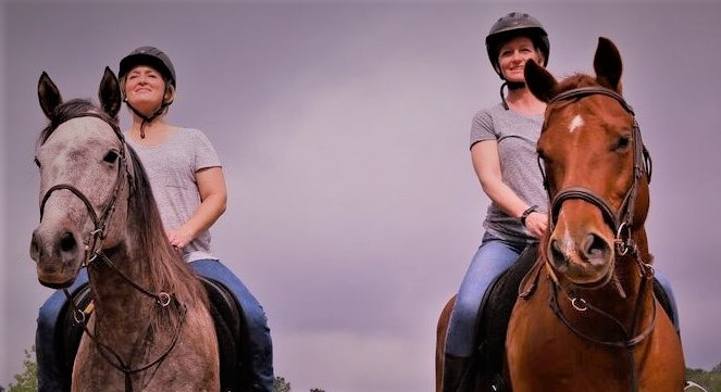 Semi Private Lesson - $40* Per Rider45 Minutes - 2 RidersEnglish, Western, Jumping, Bareback, ObstacleAges 5 plus, Intermediate-Advanced, Up to 200 lbs*Reflects $5 Discount for Monthly Package