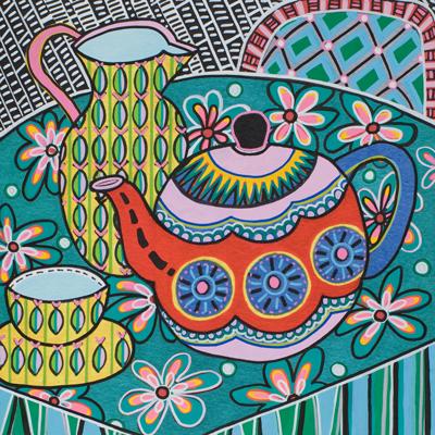 Folk Art Teaset