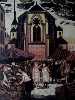 Market in Lion d'Anjou