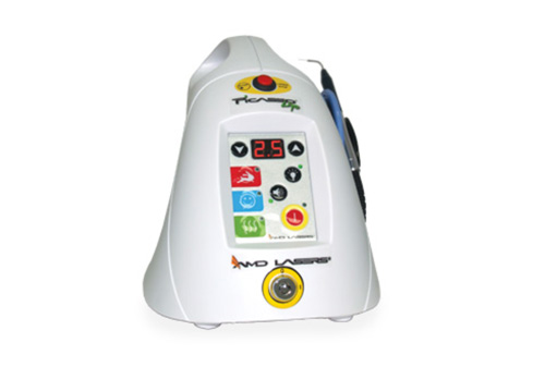 Diode Laser - Our diode laser can be used to perform a number of procedures. Most commonly, wewill use it to help uncover a tooth that is stuck in the gums. It can also be used toaesthetically contour the gums after treatment.