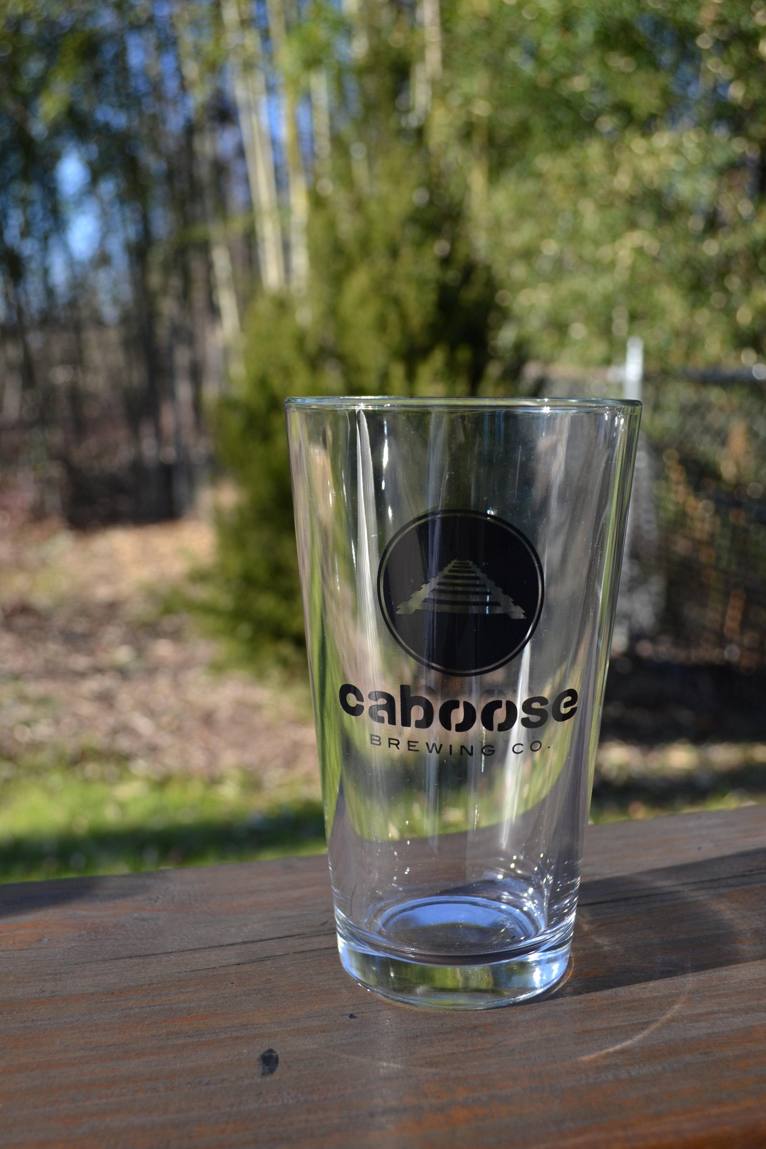 Pint Glass 16oz $7