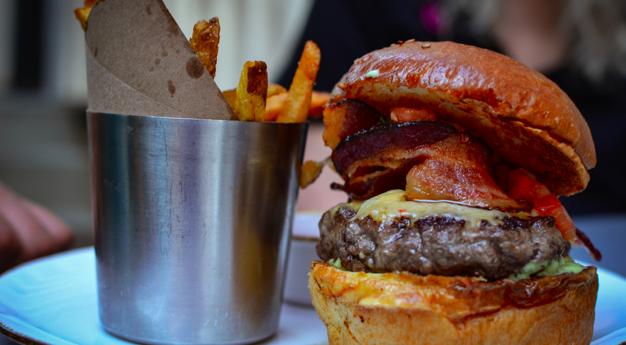 Caboose Tavern Burger Night Every Monday
