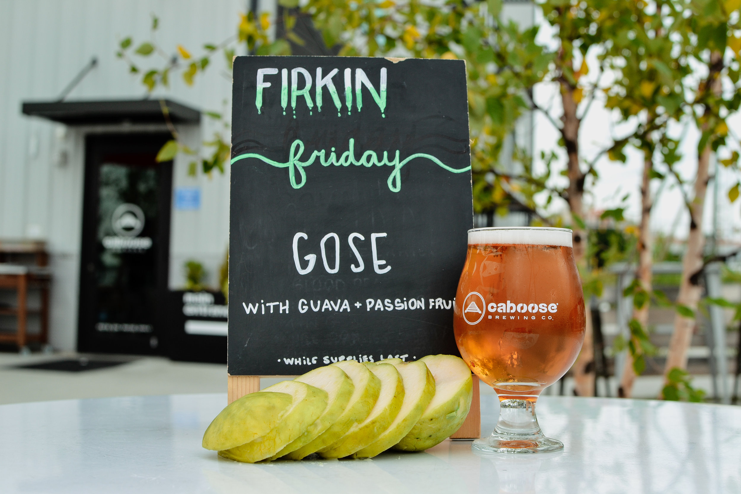 Gose with Guava and Passion Fruit