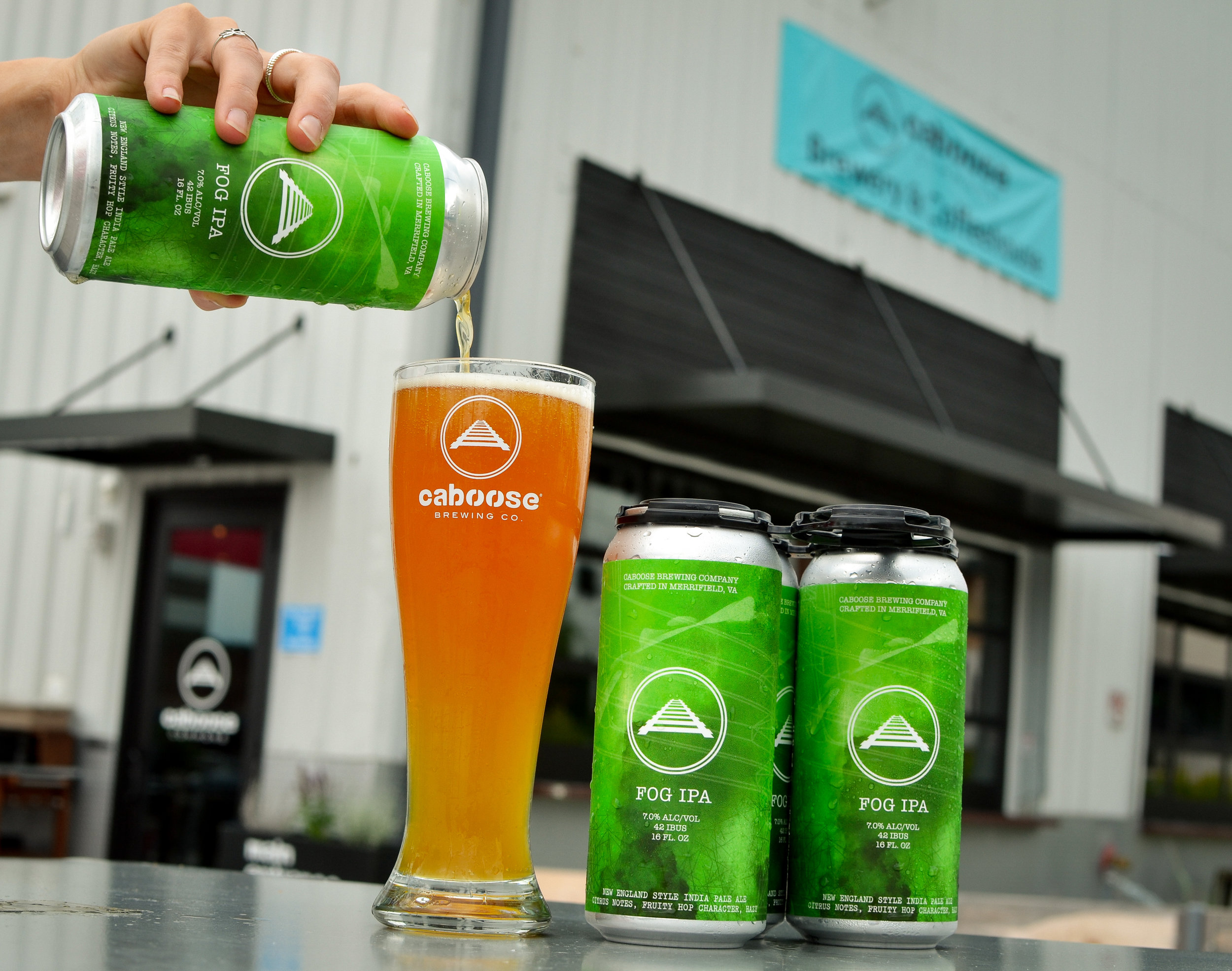 Fog IPA (4-pack, 16 oz cans)