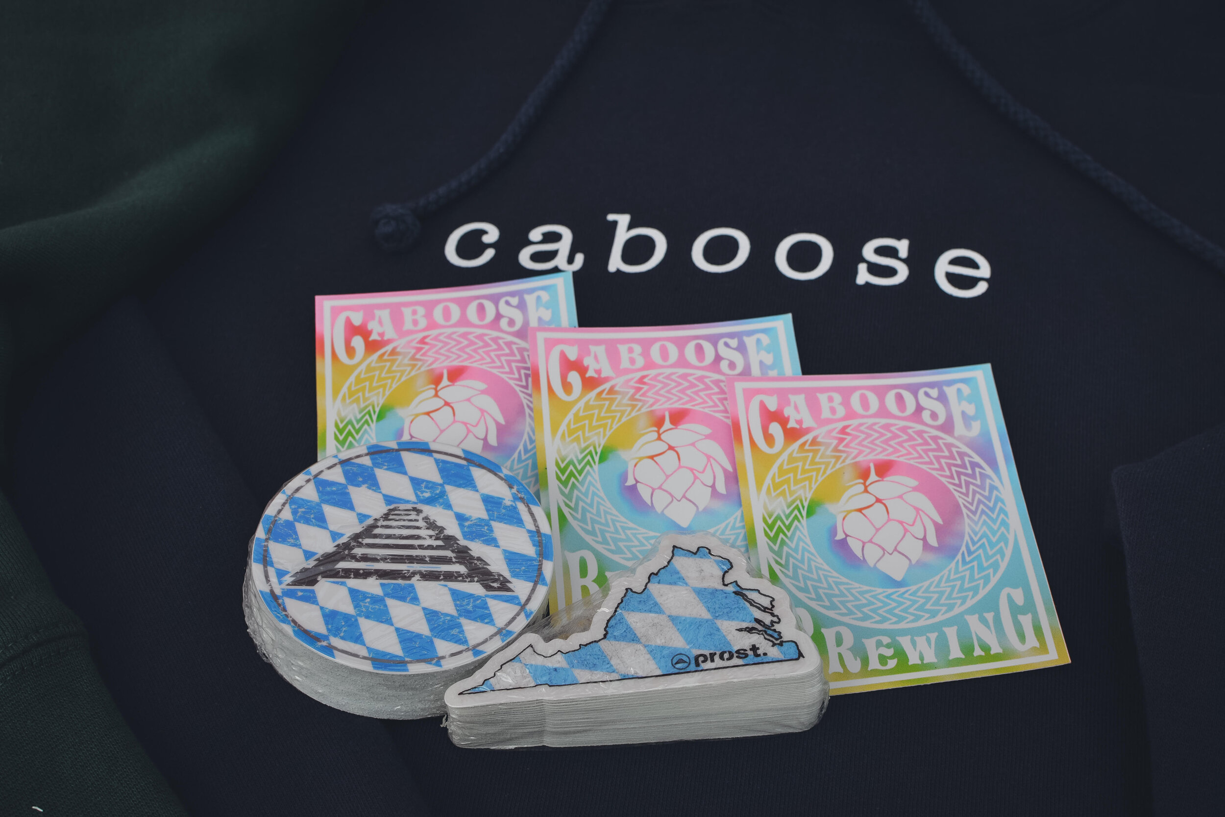 Caboose Stickers - $1.50