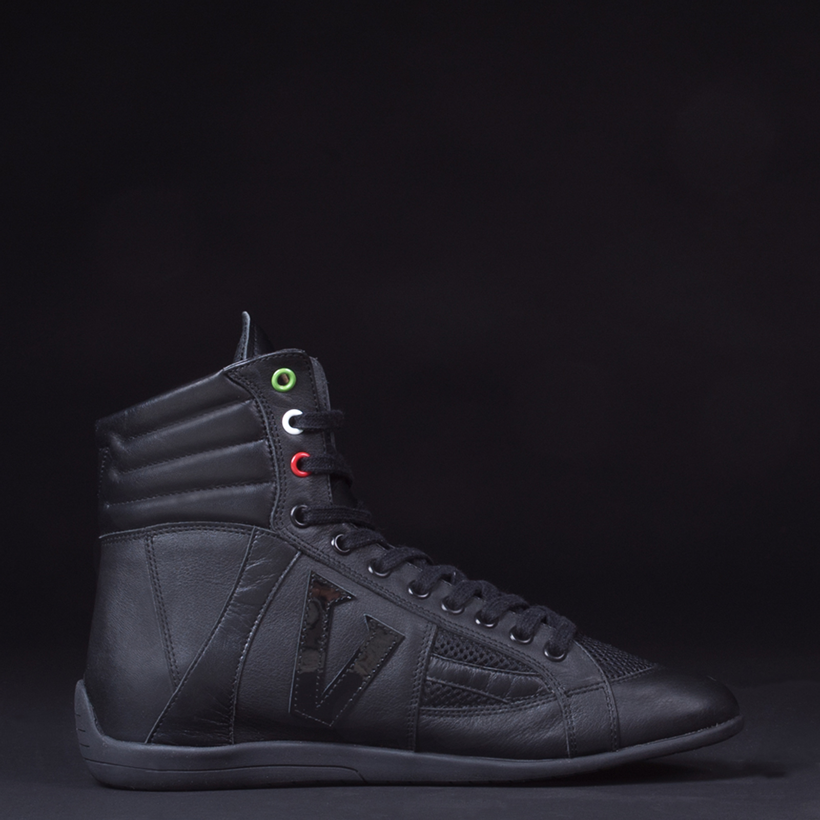Top handmade leather boxing shoes