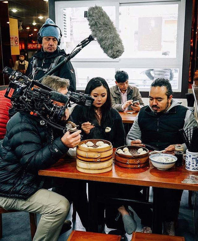 That time I took @adamliaw to my favorite soup dumpling spots in Shanghai. Missing those pure crab xlbs! 🦀🥟 Catch the Shanghai episode of #DestinationFlavor on demand @sbs_australia (need a vpn if not in AU)