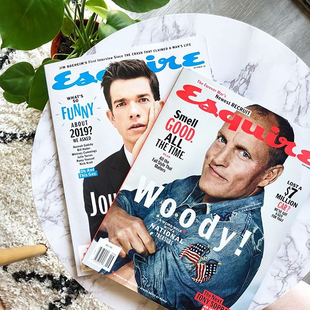 Back to back issues of @esquire 😍 @flybyjing Powering your pantry since 2019 🙏🏻 @thegordinier @sintumuang (Oh, helloo @johnmulaney @woodyharrelson)