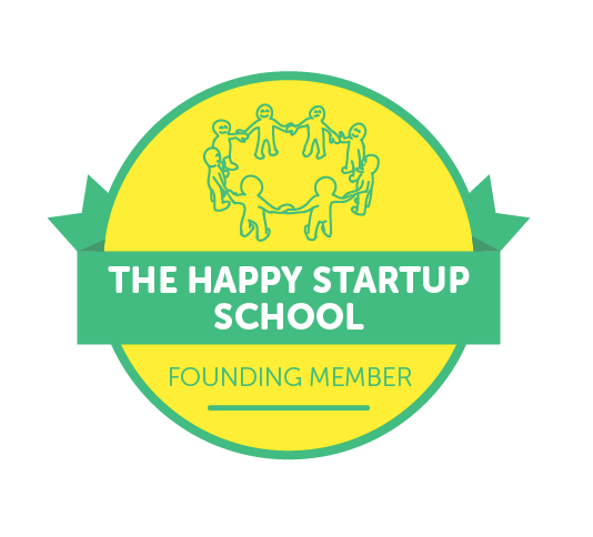 Join The Happy Startup School community platform  here .